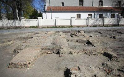 Badania archeo w Błoniu