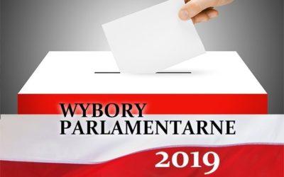 Nie bądź chory, idź na wybory! W niedziele 13.10.2019 wybory do Sejmu i Senatu RP.