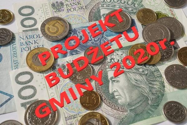Projekt budżetu gminy Błonie na rok 2020