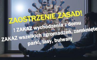 Nowe OGRANICZENIA w związku z koronawirusem. Jakie działania podejmuje błoński samorząd?