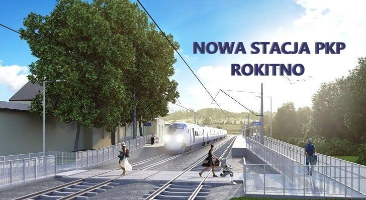 Nowa stacja PKP ROKITNO.