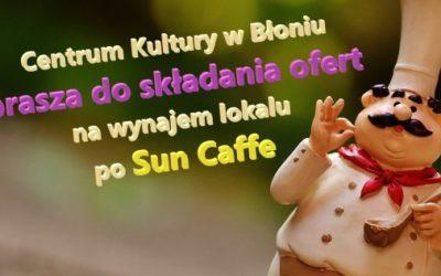 Czy po prawie dwóch latach, ktoś zdecyduje się na objęcie lokalu po SUN CAFFE?