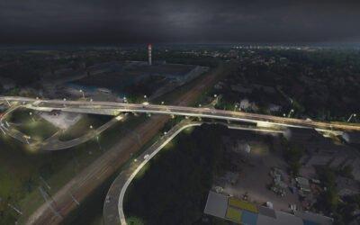 37 mln zł na wiadukt. Budowa wiaduktu w Skierniewicach.