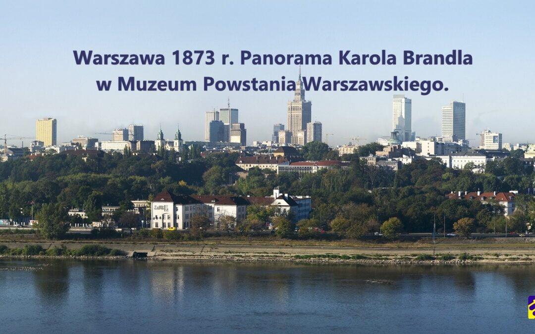 Warszawa 1873 r.  Porównaj ze współczesną Warszawą!