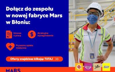 MARS – oferty pracy!