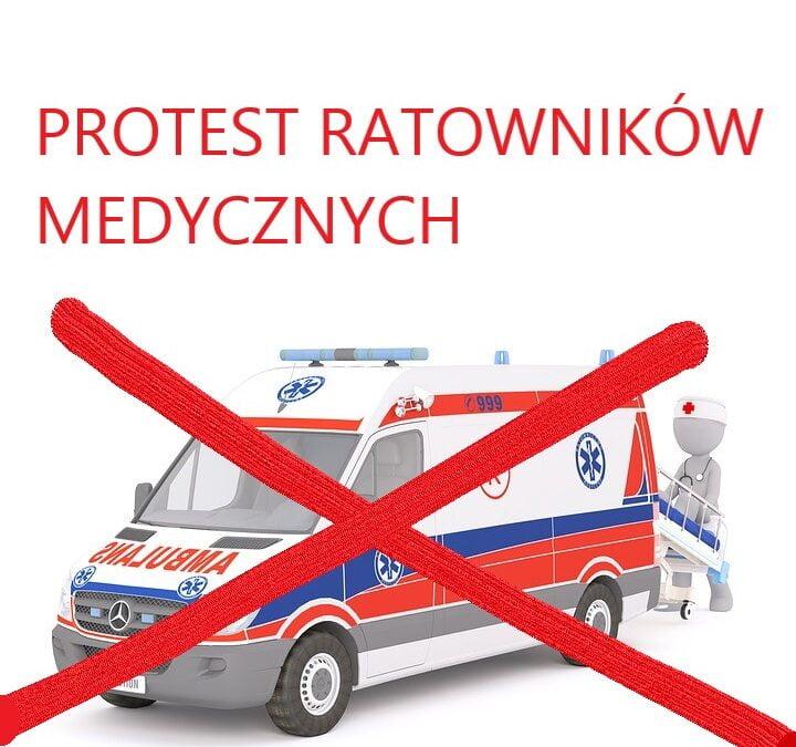 Nie choruj i nie wzywaj pogotowia w dn. 1-10 października! PROTEST RATOWNIKÓW MEDYCZNYCH!