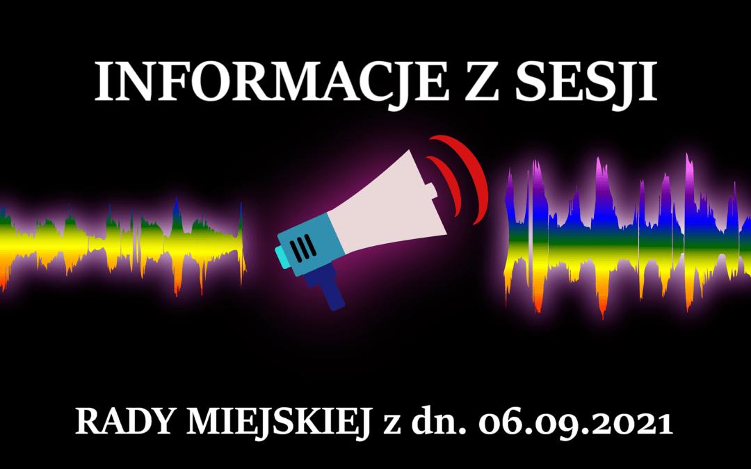 Co błońscy Rajcy uradzili dla nas z Burmistrzem? Info z sesji RM z 06.09.2021.
